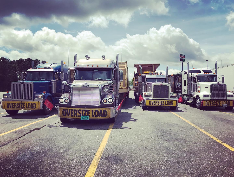 Heavy Haul Specialized Transportation Trucks